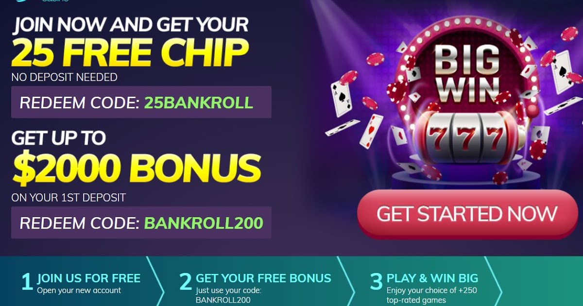 No Download Casino Bonus Codes